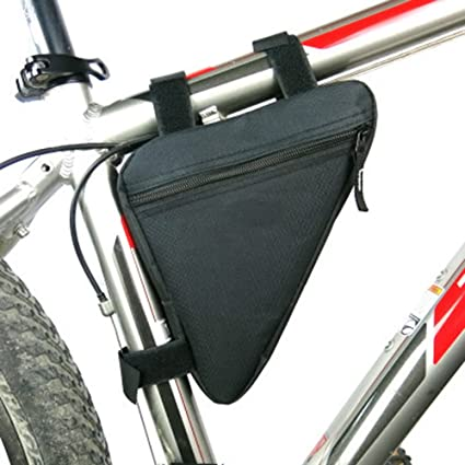 Front Frame Triangle Bag Cycling Bike Tube Pouch Holder Outdoor Sport Accessorie