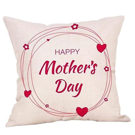 VJGOAL Día de la Madre impresión de Moda de algodón de Lino ...