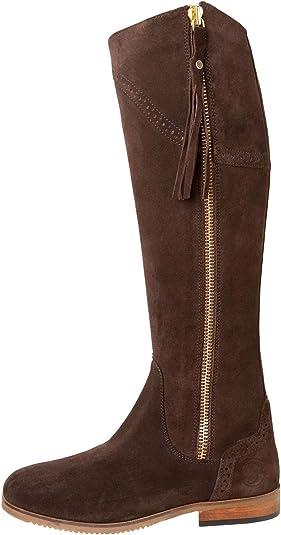 Ladies Rievaulx Suede Riding Boots