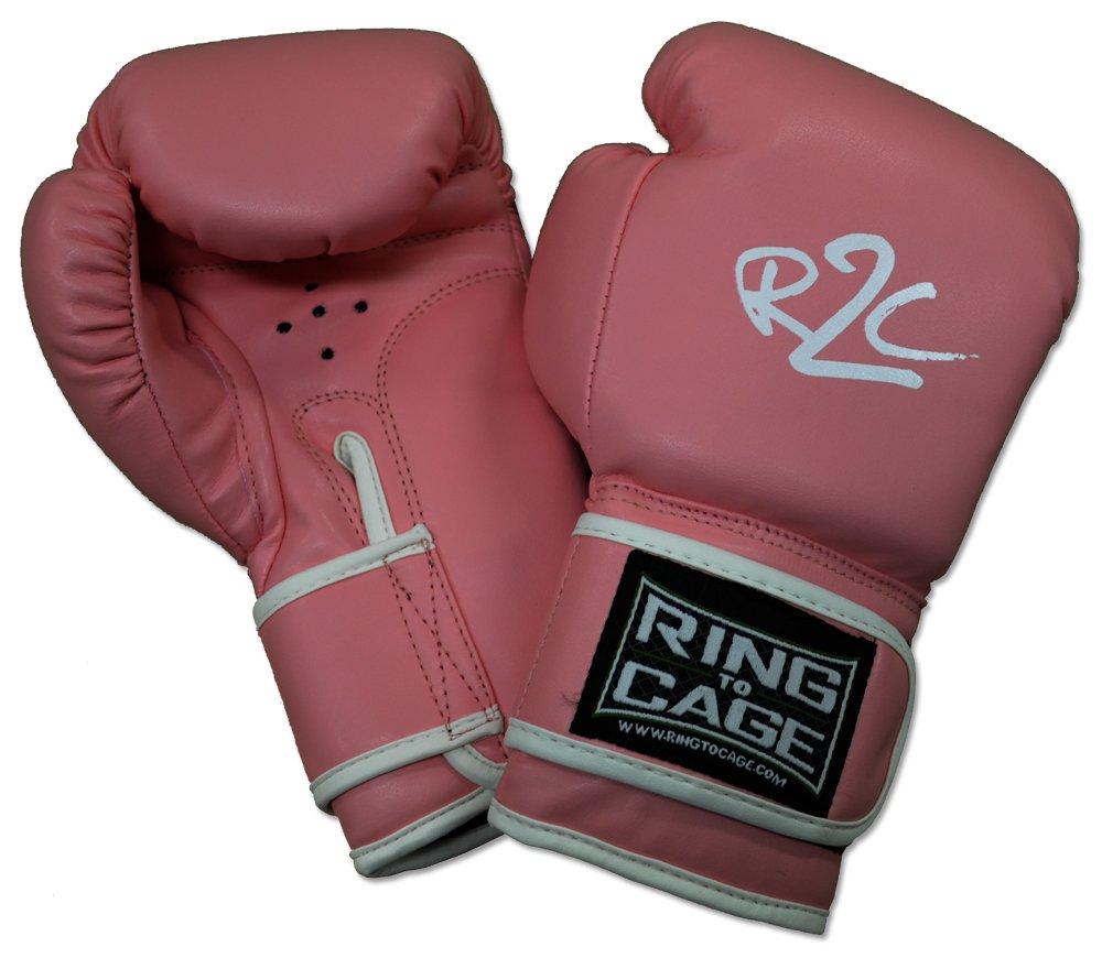 ユースボクシンググローブ、レッド/ブラック、ピンクとパープル(ラベンダー) Colors Available B00J77NJGE 6oz|ピンク ピンク 6oz