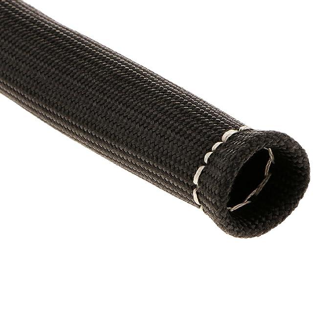 Homyl 1 Pieza Aislador de Calor de Cable Alambre de Bujía SBC Acces para Coche Autos Vehículo - negro: Amazon.es: Coche y moto