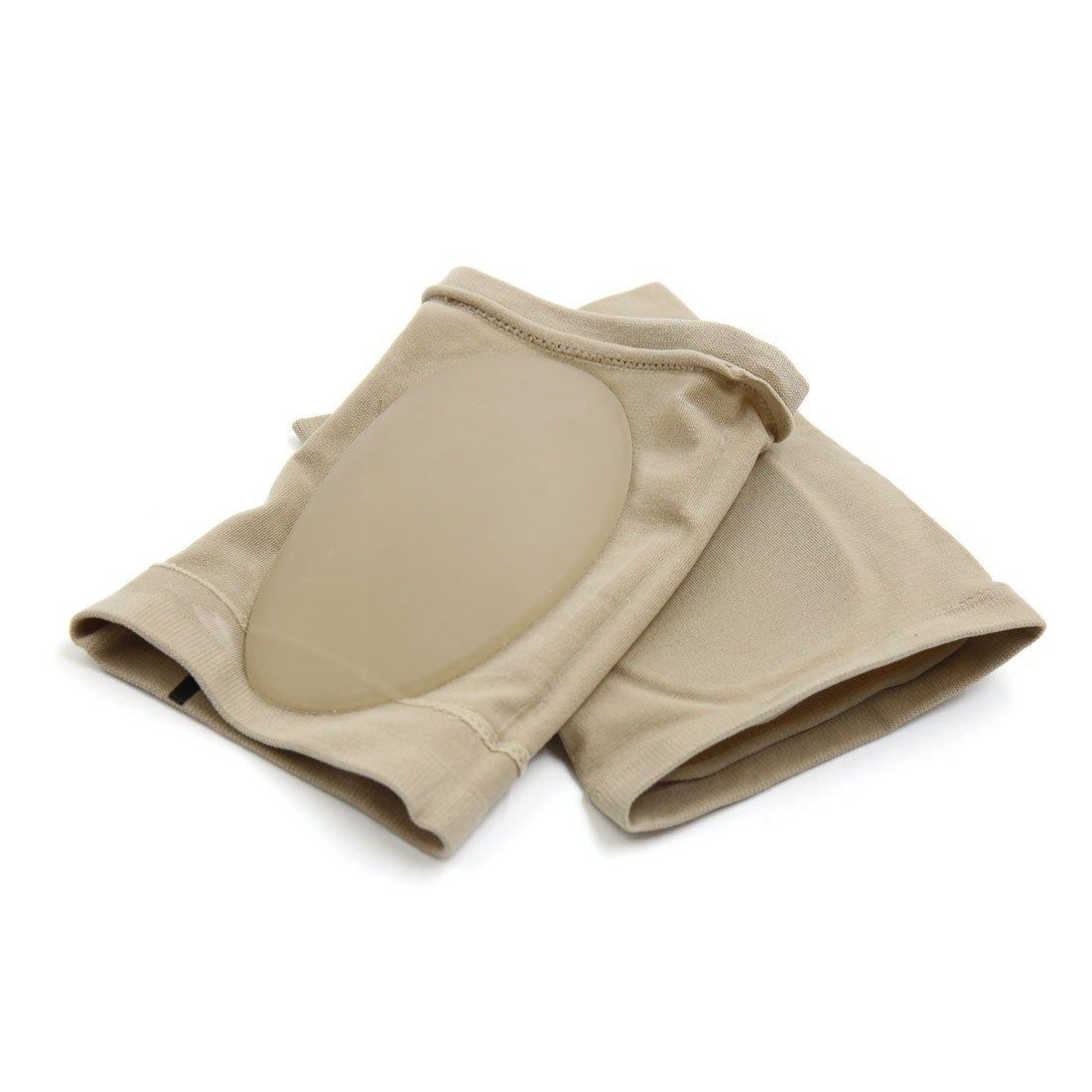 Amazon.com: eDealMax 1 par elástico cuidado de Los pies del arco Plantar vendaje de silicona Soporte de Color de la piel: Health & Personal Care