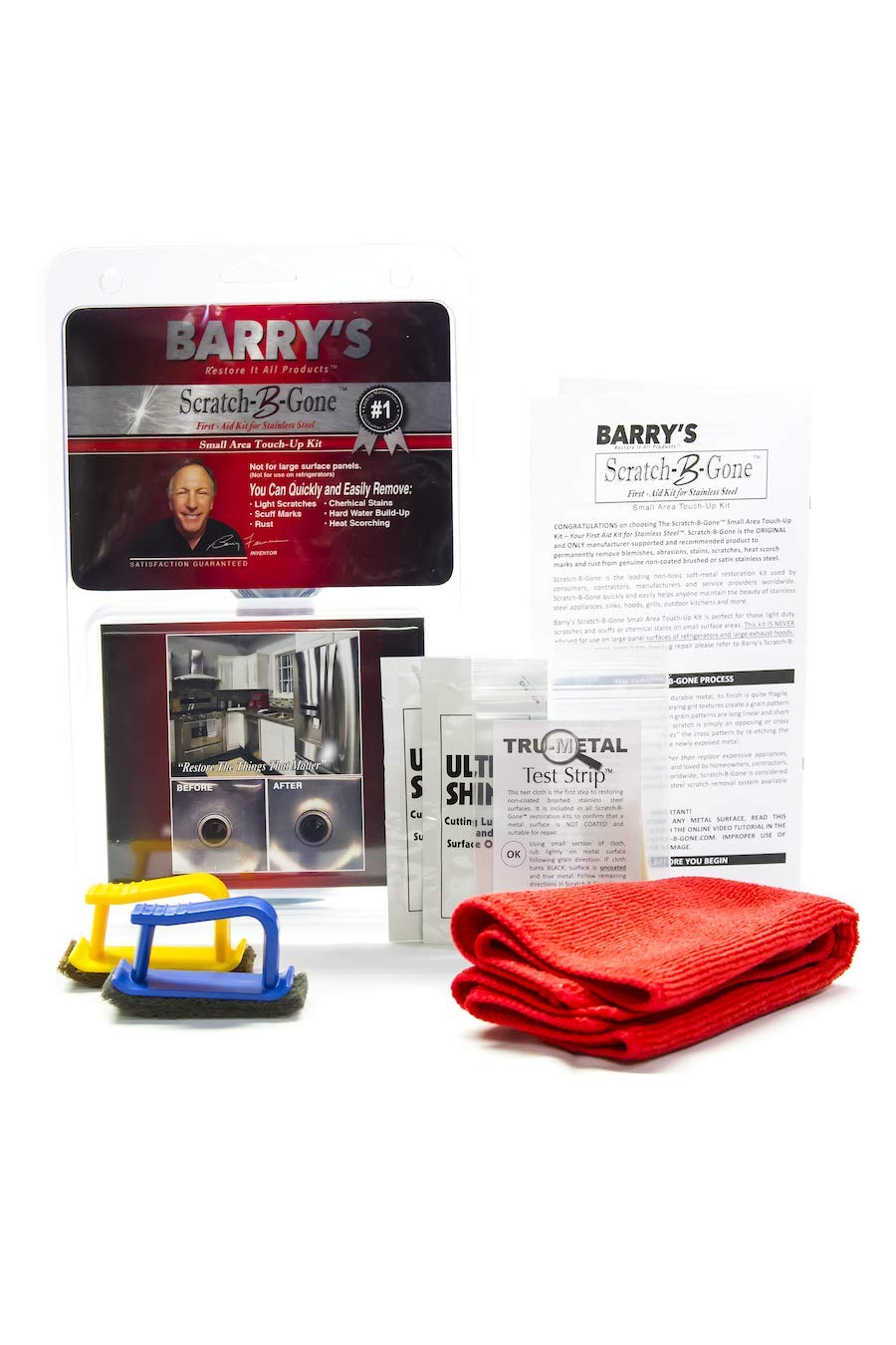 Barry's Restore It All Products - Scratch-B-Gone Small Area Touch-Up Kit