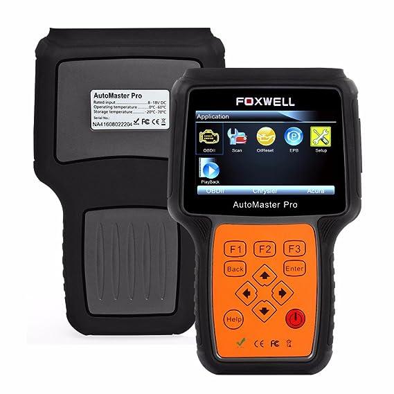 117499b3bc7056 Amazon.fr   Foxwell Nt624 Pro System airbag SRS ABS Transmission Huile  moteur Epb Service automobile OBD2 Outil de diagnostic