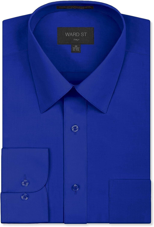 Ward St Men's Regular Fit Dress Shirts