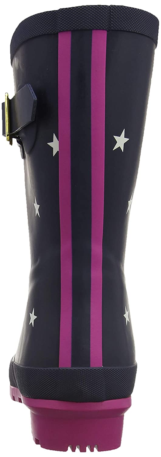Tom Molly Joule Damen Molly Tom Welly Gummistiefel Blau (Navy Stripes Exlnvst) a24bc8