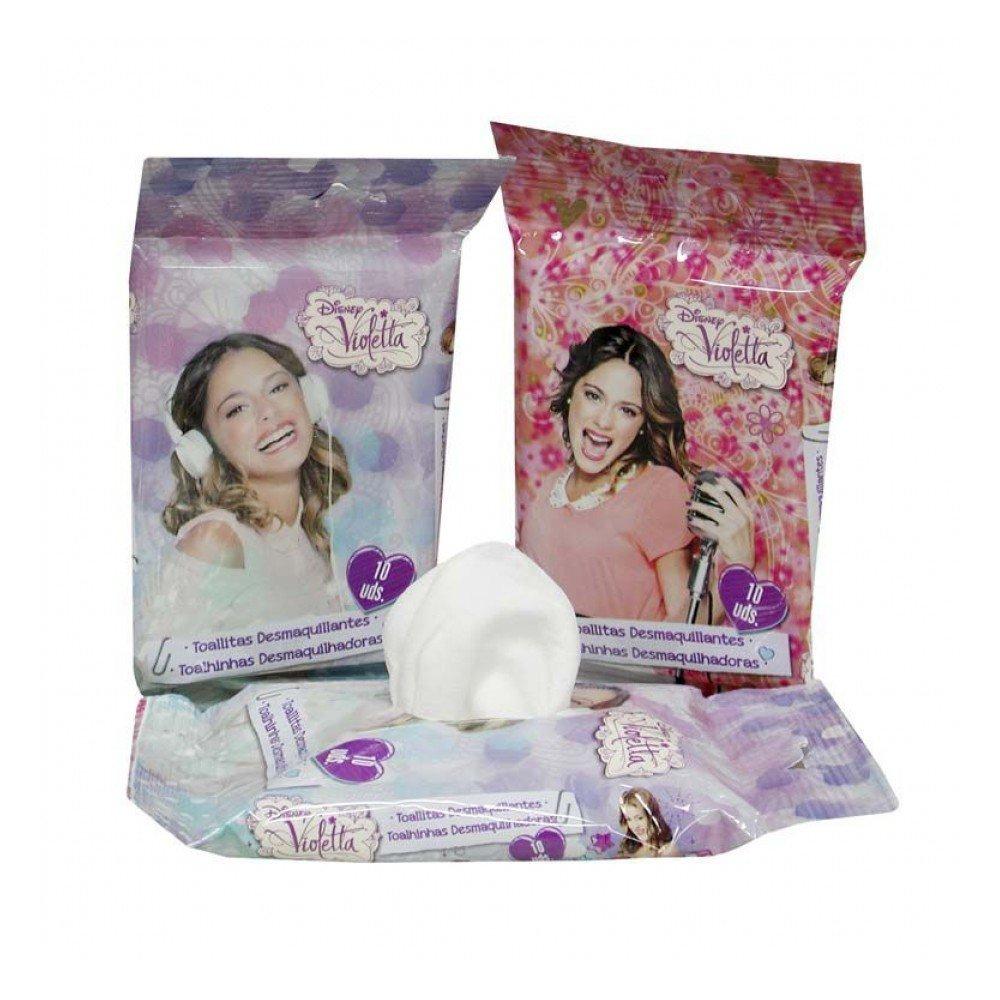 Toallitas desmaquillantes de Violetta: Amazon.es: Juguetes y ...