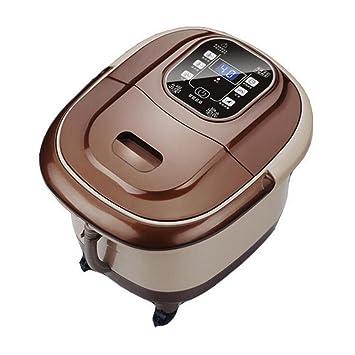 Pie masajeador eléctrico completamente automática del rodillo Spa Terapia de masaje de burbujas Vibración Pies 220v: Amazon.es: Deportes y aire libre