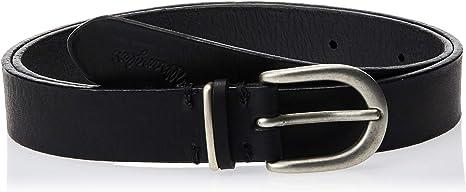 TALLA 75. Wrangler Double Loop Cinturón para Mujer