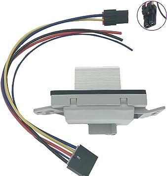 Blower Motor Resistor Module for Buick Rainier w//Auto Temp Control 89018778
