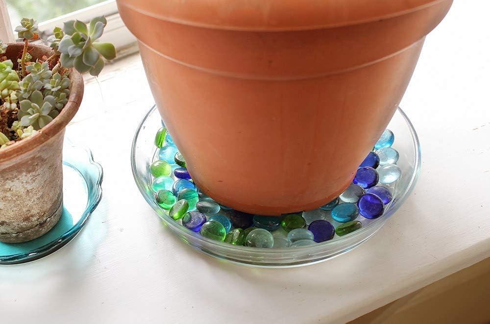 Achla Glass Plant Tray Saucer