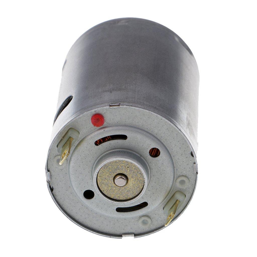Sharplace 1 Unidad Motor El/éctrico Accesorios de Juguete de 12V 16400 RPM Ideal para Herramientas El/éctricas Electrodom/ésticos