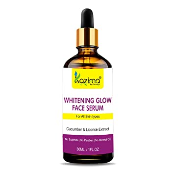 Amazon com: KAZIMA Whitening Glow Face Serum (30ML) with