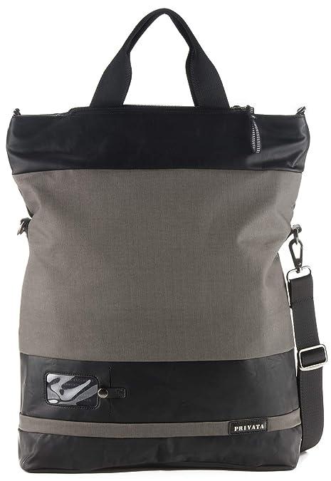 Privata hombre bolso 3 en 1: cruzado, a mano y mochila ...