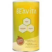 BEAVITA Vitalkost Pasto Sostitutivo Proteico 500g   Shake Dimagrante per Peso/Forma SOLO 212Kcal/Pasto   Perdi Peso Senza Rinunciare al Gusto   Bevanda Ipocalorica VEG in Polvere Gusto Cioccolato