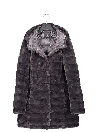 Pelle Grau Jacke Arista Rinoamp; Damen Plüsch CdorxBeW