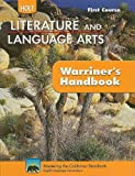 Holt Literature & Language Arts Warriner's Handbook California: Student Edition Grade 7 First Course CA First Course 2010