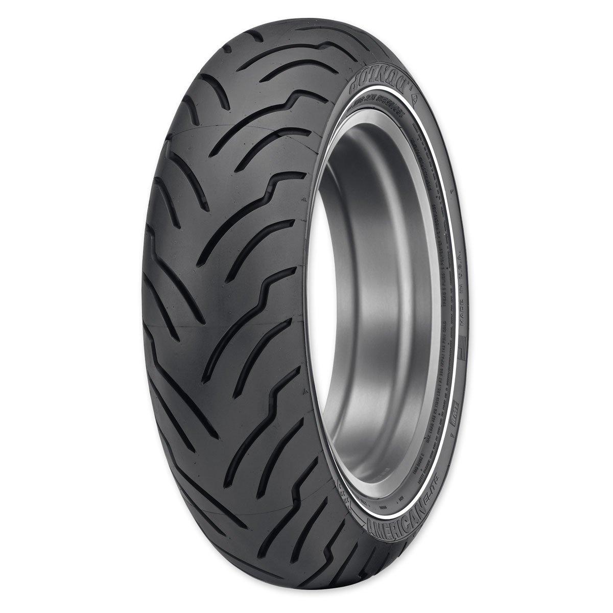 Dunlop American Elite MU85B16 Narrow Whitewall Rear Tire 32AE-23