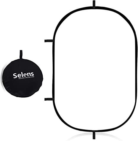 Selens 100x150cm Faltbarere Fotografie Soft Reflector Kamera