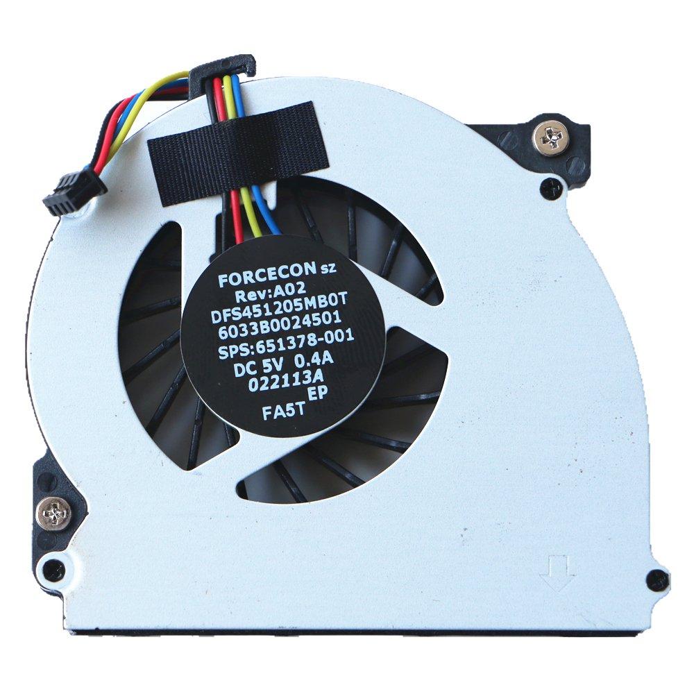 Laptop Cooler Fan Original for HP EliteBook 2560 2560P 2570P CPU Cooling Fan 6033B0024501 651378-001