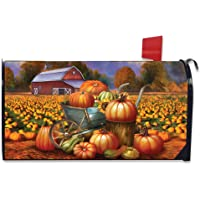 Briarwood Lane Pumpkin Farm Fall Magnetic Mailbox Cover Cart Autumn Standard