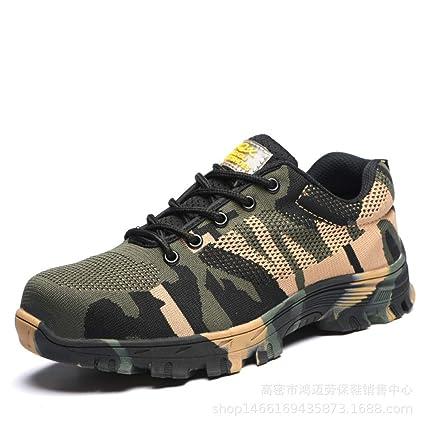 Yxlong camouflageflyingwovenmesharmygreen Scarpe Prova Manomissione Antinfortunistiche Traspiranti Impermeabili Di A 45 Estive gxUqg4rw