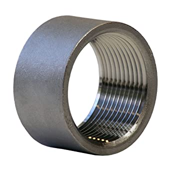 Stainless Steel 304 Cast Pipe Fitting Half Coupling Class 150 1u0026quot; NPT  sc 1 st  Amazon.com & Stainless Steel 304 Cast Pipe Fitting Half Coupling Class 150 1 ...