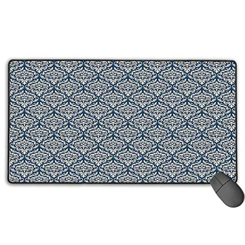 Extended Gaming Mouse Pad, Waterproof Damask Decor for sale  Delivered anywhere in USA