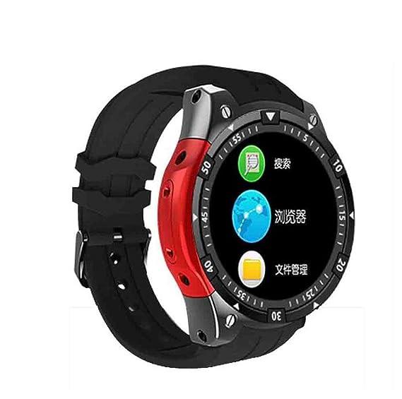 Pulsera Reloj Inteligente Android Reloj teléfono Inteligente Redondo y Redondo IP67 Impermeable presión cardíaca presión Arterial