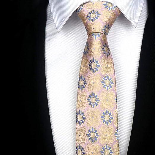 QEHWS Corbata Plaids Stripes Necktie Hombre Accesorios Corbata ...