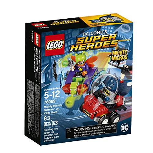 LEGO Super Heroes Mighty Micros: Batman vs. Killer Moth 76069 Building Kit