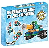 Robotic Kit For Kids – Ingenious Machines Remote Control Building Kits For Kids – TG633 Awesome Fun Build Your Own Robot Toy by ThinkGizmos (All batteries included)