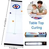JRD&BS WINL Best Gift for Kids, Tabletop Curling Toys,Kids Game for Families, Adults vs Kids in This Fun Family Game.