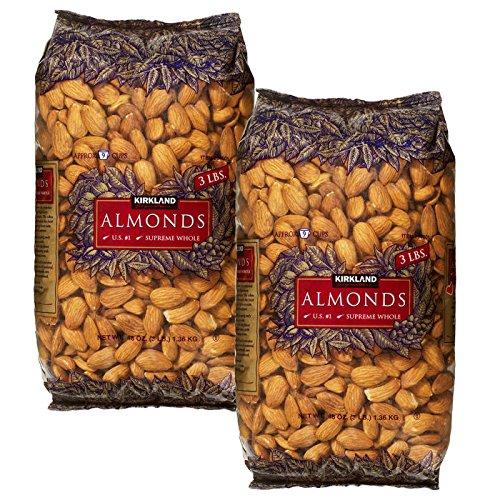 Kirkland Signature Supreme Whole Almonds, 3 Pound …