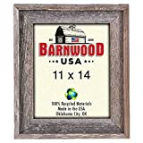 Cheap BarnwoodUSA Rustic 11×14 Inch Signature Photo Frame – 100% Reclaimed Wood, Weathered Gray
