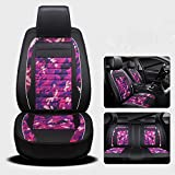 CAR Car Seat Cover Cushions Flax Front Rear Full Set For 5 Seats Vehicle Suitable For Year Round Use , 003