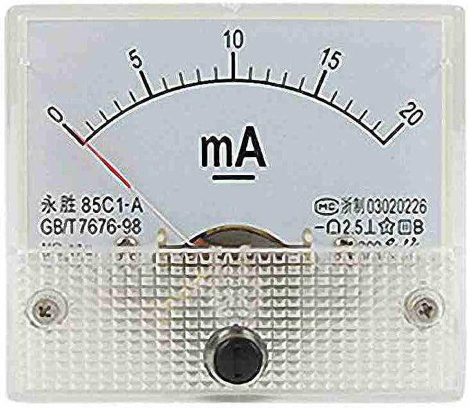 0 20ma Analog Dc Strom Panel Meter Amperemeter 85c1 A Elektronik