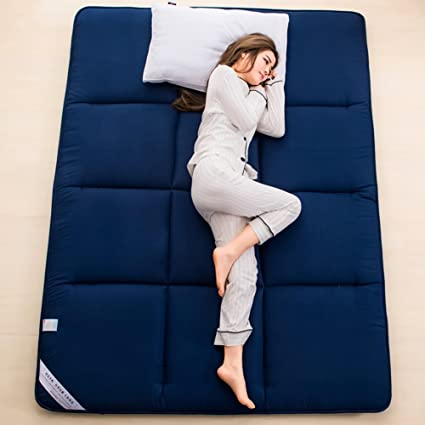 Portátil Colchón tatami colchones para cama, Lavable ...
