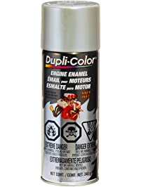 Dupli-Color CDE1650 Engine Paint with Ceramic, Cast Coat Aluminum, 12 Ounce, 1 (Non-Carb Compliant)