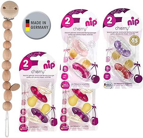 NIP Cherry Chupete redondo 8 unidades Girl Set // Talla 2 // 6 ...