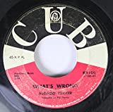 alonzo tucker 45 RPM what's wrong / ramona