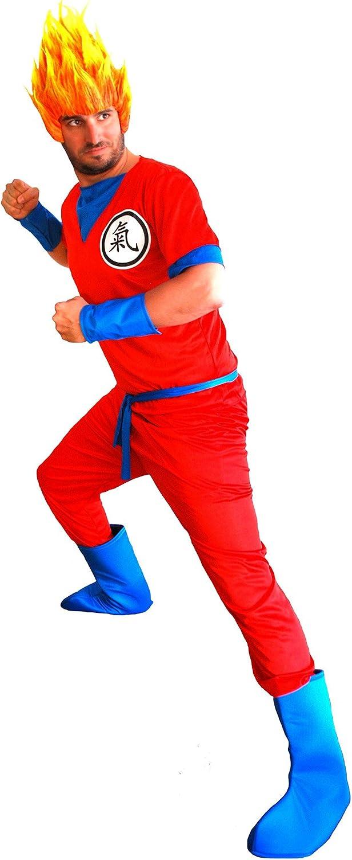 el carnaval Disfraz Son Goku Ninja Manga Adulto: Amazon.es ...