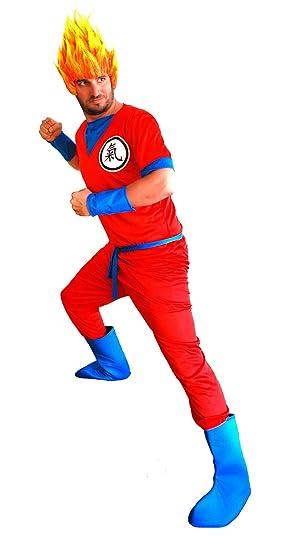 el carnaval Disfraz Son Goku Adulto