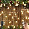 Minetom 100 LED 33ft Ball LED Globe String Lights