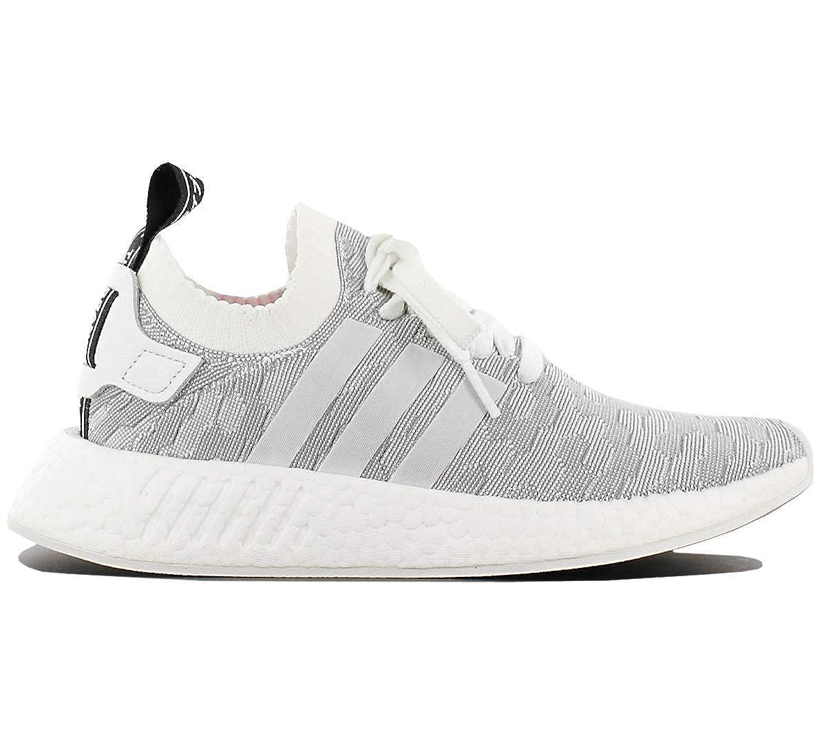 Adidas Originals NMD R2 PK W BY9520 Damen Schuhe Weiß-Grau Gr. EU 40 UK 6.5