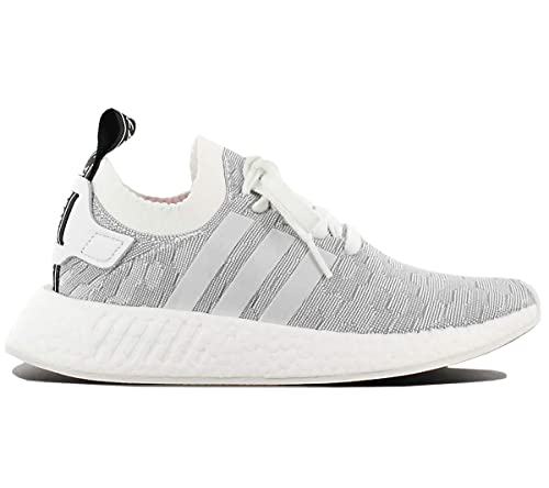 a48fe0f81d97c adidas Originals NMD R2 PK W BY9520 Ladies White-Grey Womens Trainers  Sneaker Shoes Size  EU 40 UK 6.5  Amazon.co.uk  Shoes   Bags