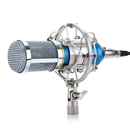 Review Excelvan Condenser Recording Microphone