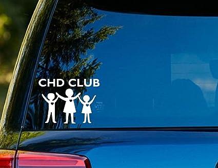 e8f191eb69da4 Amazon.com: T1190 CHD CLUB Decal Sticker - 4.00