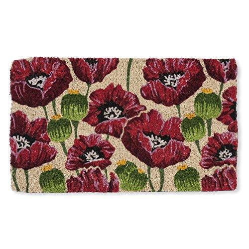 Abbott Collection Coir Poppy Doormat