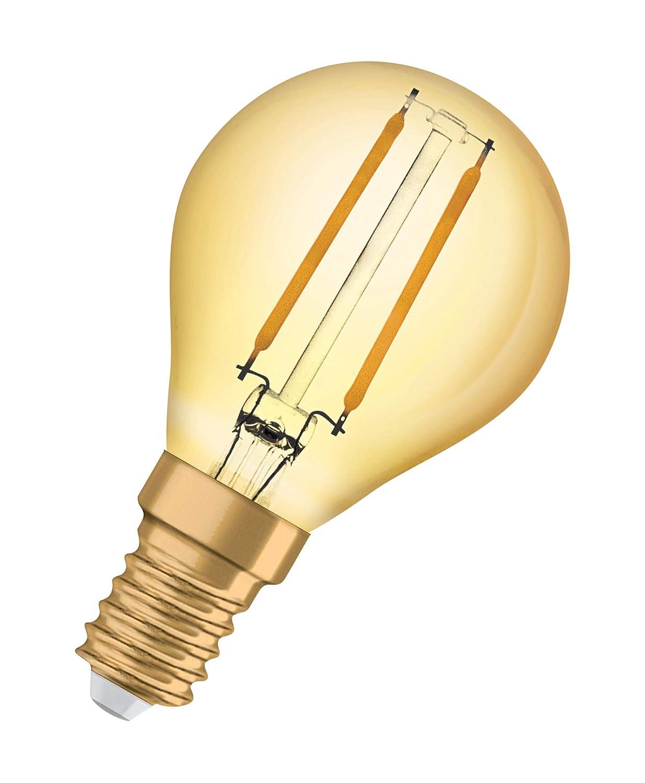 Culot E27 8W /équivalent 68W OSRAM Vintage Edition 1906 Ampoule LED /à Filament Blanc Chaud 2500K Forme Standard Or Ambr/ée